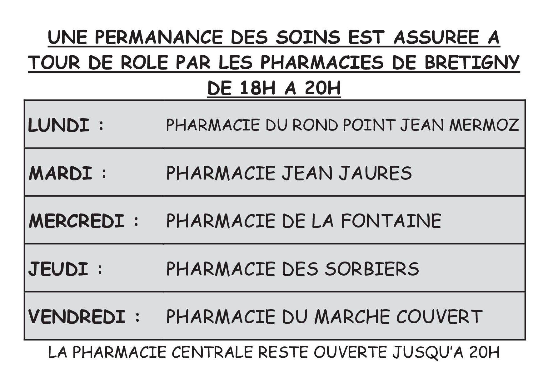 Pharmacie des Sorbiers_COVID-19_Permanence des soins